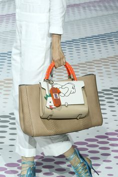Anya Hindmarch Spring 2015 runway handbags via @WhoWhatWear