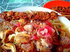 Mie Sop. Medan, Indonesia.