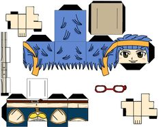fairy tail papercraft | MangaPapercraft: levy (fairy tail)