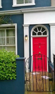 notting hill london Notting Hill London, Garage Doors, Outdoor Decor, Home Decor, London, Puertas, Decoration Home, Room Decor, Home Interior Design