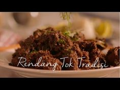 Tesco | Nestlé - Inspirasi Ramadan :: Daging Rendang Tok Chef Wan, Think With Google, Malaysian Cuisine, Rasa Malaysia, Yummy Food, Delicious Recipes, Asian Recipes, Pork, Easy Meals