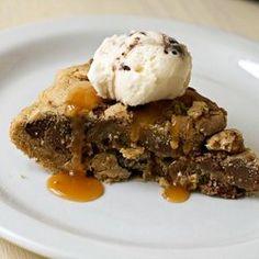 One Pan Skillet Cookie — Recipe from La Phemme Phoodie
