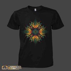 Obra: 4 WAYS | Artista: Dimorphic | Camiseta psicodélica & visionária | Camiseta psicodelica | Psychedelic t-shirt |  nomad-wear | http://www.facebook.com/nomadwearbrasil