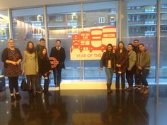 I took our first year BA Tourism students to the control centre of London's Surface Traffic at TFL.  We all learned a lot from Natasha Dimelow, our host for the afternoon.