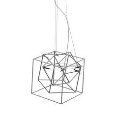 A box within a box within a box. We're fascinated by the optical effects of this Cube Tube Pendant Light. Think of the possibilities for this geometric wonder, fashioned as a collection of open boxes p...  Find the Cube Tube Pendant Light, as seen in the Chandeliers Collection at http://dotandbo.com/category/lighting/chandeliers-and-pendants/chandeliers?utm_source=pinterest&utm_medium=organic&db_sku=111497