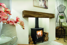 Available in / Or Made to Size Log Home Decorating, Decorating Tips, Mantle Piece, Log Burner, New Living Room, Log Homes, Home Projects, Beams, Lounge