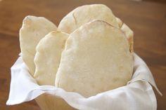 Pão sírio sem gluten