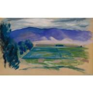 New Mexico Landscape 1918