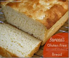 Sarena's GF/DF Bread ! the best gluten free homemade bread bar far! so easy to made and very soft. Love it!
