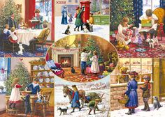 Christmas Wishes by Kevin Walsh 1000 piece jigsaw puzzle