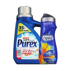 En CVS puedes conseguir el detergente Purex liquido y Crystals a $1.99 cada uno en especial hasta el 2/4. No necesitas cupón para esta ...