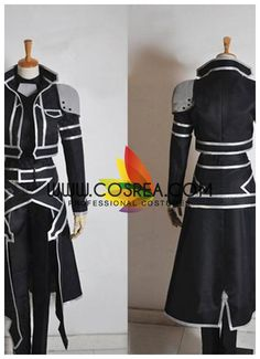 Costume Detail Sword Art Online ALO Kirito Costume Set Includes - Top, Pants, Gloves, Shoulder Armor, Belt We may have selected store sizes for this costume, ready for fast ship. Please check with us