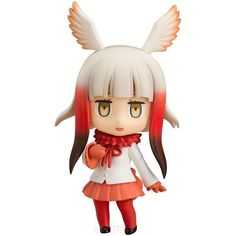 Kemono Friends Nendoroid : Japanese Crested Ibis #kemonofriends #japanesecrestedibis #nendoroid #actionfigure #animeactionfigures #hypetokyo