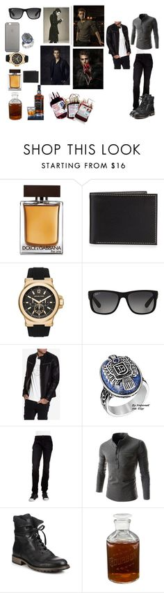 """""""Sin título #139"""" by lilianagaru ❤ liked on Polyvore featuring Dolce&Gabbana, Neiman Marcus, Michael Kors, Ray-Ban, NLY MAN, Hudson Jeans, Belstaff, Native Union, men's fashion and menswear"""