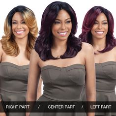 ModelModel Synthetic Lace Front Wig Deep Invisible 3 Way Part Lace Breezy