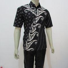 Batik pria model hem lengan pendek terbaru harga murah 3677934e52