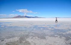 Bonneville Salt Flats (aka Great Salt Lake Desert).