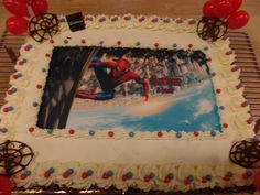 Spiderman Cake Ideas for Little Super Heroes - Novelty Birthday Cakes Spiderman Cake Topper, Spiderman Web, Spiderman Theme, Superhero Theme Party, Superhero Birthday Cake, Novelty Birthday Cakes, Batman Cakes, Birthday Party Themes, Slab Cake