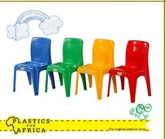 #PlasticsForAfrica has a great range of assorted kiddies plastic #furniture available. Come pop in at your nearest branch today! #Kiddies