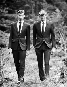 Ben Allen + Kyle D'Arcy for Hardy Amies SS13