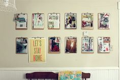 Smile and Wave: The June Inspiration Wall