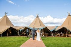 Hannah and John's Chilled Out Gloucestershire Tipi Wedding by Courtney Louise Photography Tipi Wedding, Wedding Blog, Green Decoration, Different Shades Of Pink, White Balloons, Relaxing Day, Wedding Weekend, Large Flowers, Go Outside