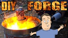 How To Build A Simple Cheap Metal Foundry & Forge