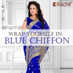 Thriving collection of new chiffon sarees now available in stock. Check this out at www.rachitfashion.com.  #chiffon #sarees #shoponline