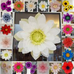We provide high quality of paper flowers for every beautiful craft check out this item in my etsy shop httpsetsy junglespirit Gallery