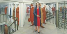 Saw an exhibit of George Tooker a few years back at the PA Academy of Fine Arts.. this was some deep stuff!!