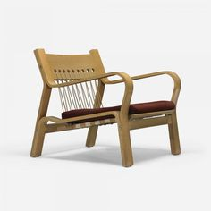 Hans Wegner; #GE-672 Lounge Chair for Getama, 1967.