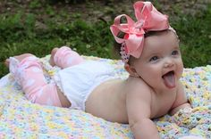 Baby Girl Leg Warmers  Bow Leg Warmers  by DarlingLittleBowShop, $13.95