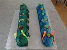 Tojástartó hernyó - Egg carton caterpillar