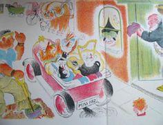 Orlando The Marmalade Cat - A Camping Holiday