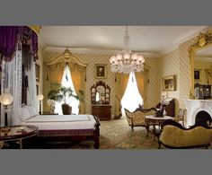 At Home with History in the White House  ,  Lincoln Bedroom  - Washington, USA