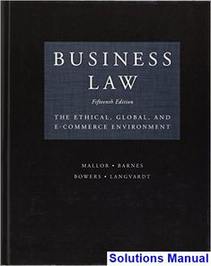 Financial markets and institutions 11th edition jeff madura test solutions manual for business law the ethical global and e commerce environment 15th edition by fandeluxe Gallery