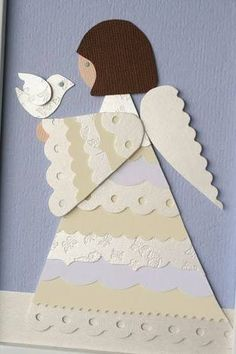 「angel christmas cards handmade」の画像検索結果
