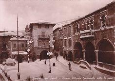 Cartolina, Gemona sotto la neve