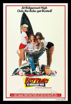 Fast Times at Ridgemont High CineMasterpieces 1sh NM M Original Movie Poster | eBay