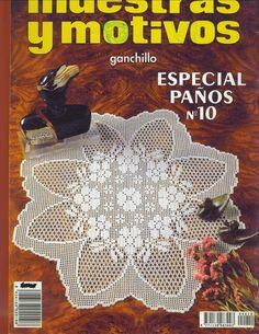 "Photo from album ""ааа Рукоделие"" on Yandex. Crochet Instructions, Crochet Diagram, Crochet Chart, Crochet Round, Hand Crochet, Crochet Lace, Knitting Magazine, Crochet Magazine, Crochet Books"