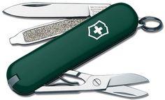 Victorinox Taschenmesser, Cellidor Schale grün, 7 Funktionen, Länge: 58 mm, 13,10€