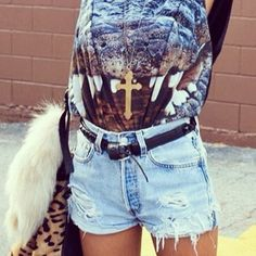 Visit our store for vintage high waisted shorts like these! Get 10% off your first order with coupon code GRANDOP at www.goldengarb.com #highwaistedshorts