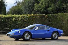 1971 Ferrari Dino 246GT Coupé  Chassis no. 03048 Engine no. 03048