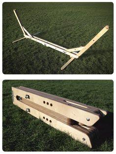 Wooden Hammock Stand, Hammock Frame, Diy Hammock, Portable Hammock, Woodworking Projects Diy, Diy Wood Projects, Outdoor Projects, Woodworking Plans, Wood Crafts