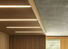 linear lights, Britten-Pears Archive by Stanton Williams