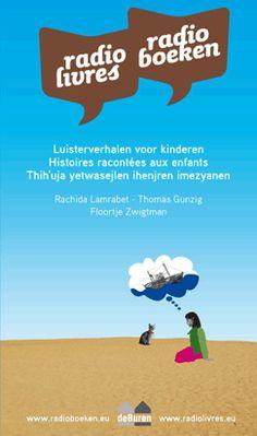 Site met radioboeken in het Nederlands, Frans en Berbers voor kinderen van 6 tem 10 jaar