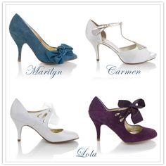 vintage shoes   Shoesday: Rachel Simpson Vintage-wedding-Shoes – The Demoiselle