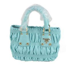 SG$257.00 Buy Prada Gaufre Leather Mini Tote Bag Bn2096 Blue Outlet Store Online