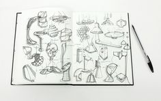 SKETCHBOOK-Sketches by Prigent Tanguy