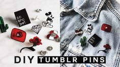 DIY TUMBLR PINS - Minimal, Easy & SUPER Affordable!